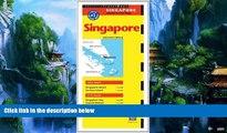 Books to Read  Singapore Travel Map Eleventh Edition (Periplus Travel Maps: Singapore Island