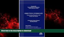 READ ONLINE Objection Overruled: Overcoming Obstacles in the Lawyer Job Search READ NOW PDF ONLINE