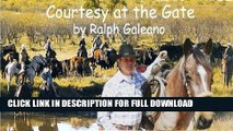 [DOWNLOAD PDF] Courtesy at the Gate  A Cowboy Chatter Article (Cowboy Chatter Articles) READ BOOK