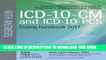 [PDF] ICD-10-CM and ICD-10-PCS Coding Handbook, with Answers, 2017 Rev. Ed. Popular Colection
