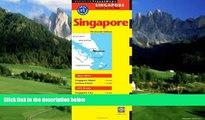 Big Deals  Singapore Travel Map Thirteenth Edition (Periplus Travel Maps: Singapore Island   City