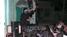 Zakir Syed Ali Naqi Mehdi  Imam Bargha Hassan Mujtaba a.s Faisalabad Shame Ghriban part 1