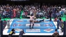 NJPW ROAD GABOROU UONUMA 2016 KOJIMA,FINLAY AND RICOCHET VS ROPPONGI VICE AND WILL OSPREAY 6-MAN TAG NEVEROPEN CHAMPION