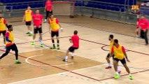 FCB Handbol: Xavi Pascual, prèvia FCB Lassa-BM Villa de Aranda [CAT]