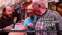 soutien à Francois hollande 2017