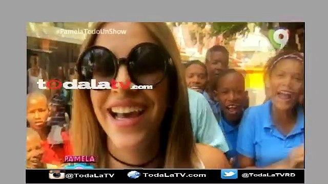 Pamela Sued de turista en Capotillo junto a Bullin 47-Pamela Todo Un Show-Video
