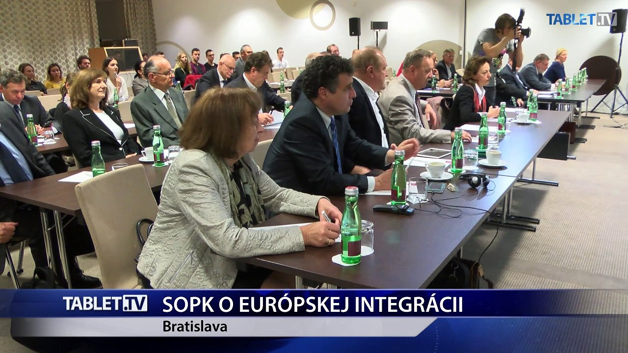 SOPK usporiadala konferenciu o európskej integrácii