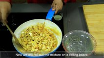 Kaju Chikki Recipe - Cashew Nuts Brittle - Caramelized Cashews