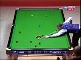 Snooker Trick Shots 2013 HD Snooker Video Snooker Robert Milkins vs Stephen Hendry 132 - YouTube
