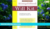 Big Deals  Simplified Will Kit: Prepare Your Own Will Without Using a Lawyer (Simplified Will Kit