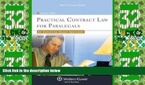 Must Have PDF  Practical Contract Law for Paralegals: An Activities-Based Approach, Third Edition