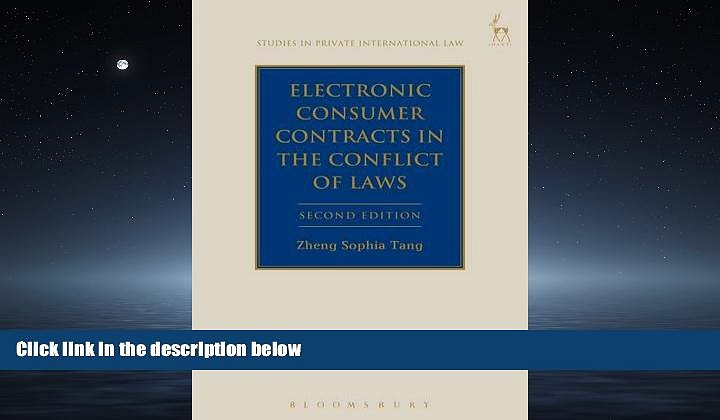 READ book  Electronic Consumer Contracts in the Conflict of Laws: Second Edition (Studies in