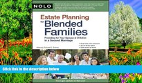 Deals in Books  Estate Planning for Blended Families: Providing for Your Spouse   Children in a