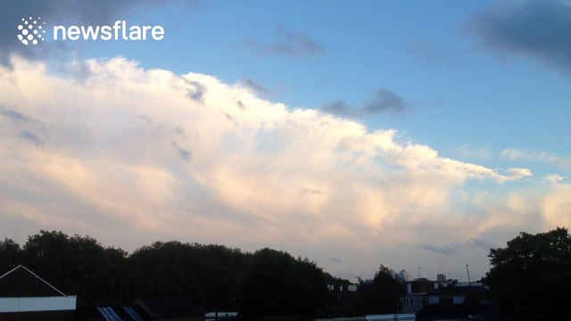 Cool cloud formation observed in London