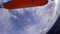 balade dans le ciel de Millau avec les vautours