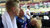 """Championnats d'Europe sur Piste 2016 - Corentin Ermenault : """"Le moteur du groupe Chavanel"""""""