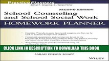 [BOOK] PDF School Counseling and School Social Work Homework Planner Collection BEST SELLER