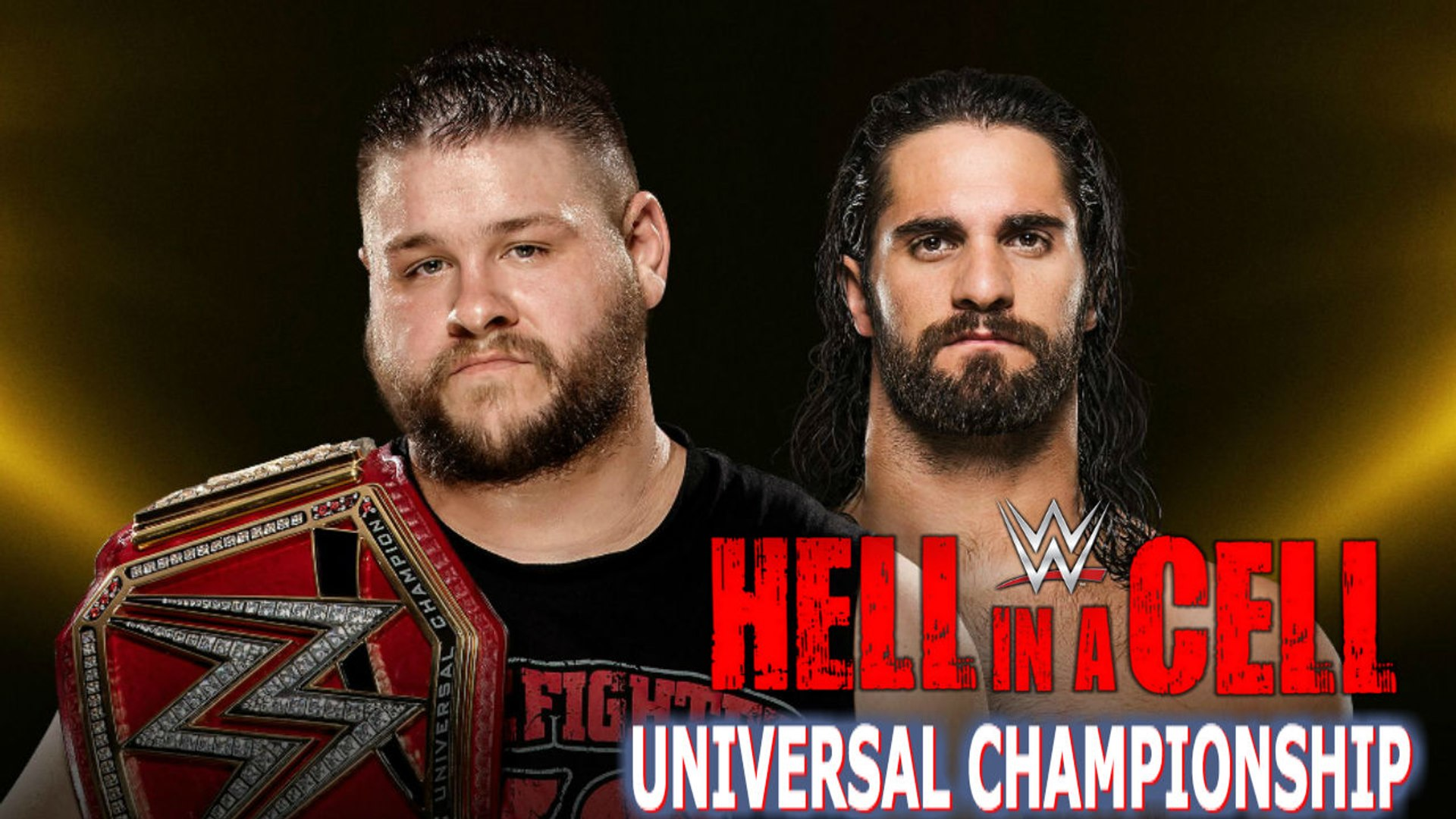 Kevin Owens (c) vs. Seth Rollins WWE 2K17 HELL IN A CELL UNIVERSAL CHAMPIONSHIP - HELL IN A CELL MAT