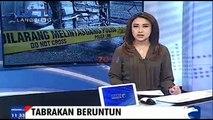 Tabrakan Beruntun, 1 Tewas, Belasan TNI AL Luka