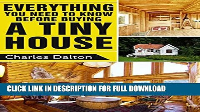 [PDF] Tiny Houses: Everything You Need to Know before Buying a Tiny House (Tiny Houses, Tiny House