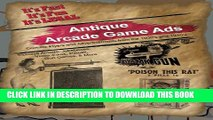 [PDF] Antique Arcade Game Ads - 1930s to 1940s Popular Collection