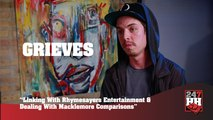 Grieves - Linking With Rhymesayers & Dealing With Macklemore Comparisons (247HH Exclusive) (247HH Exclusive)