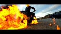 Ghost Rider- Spirit Of Vengeance - Highway Chase Scene - 1080p