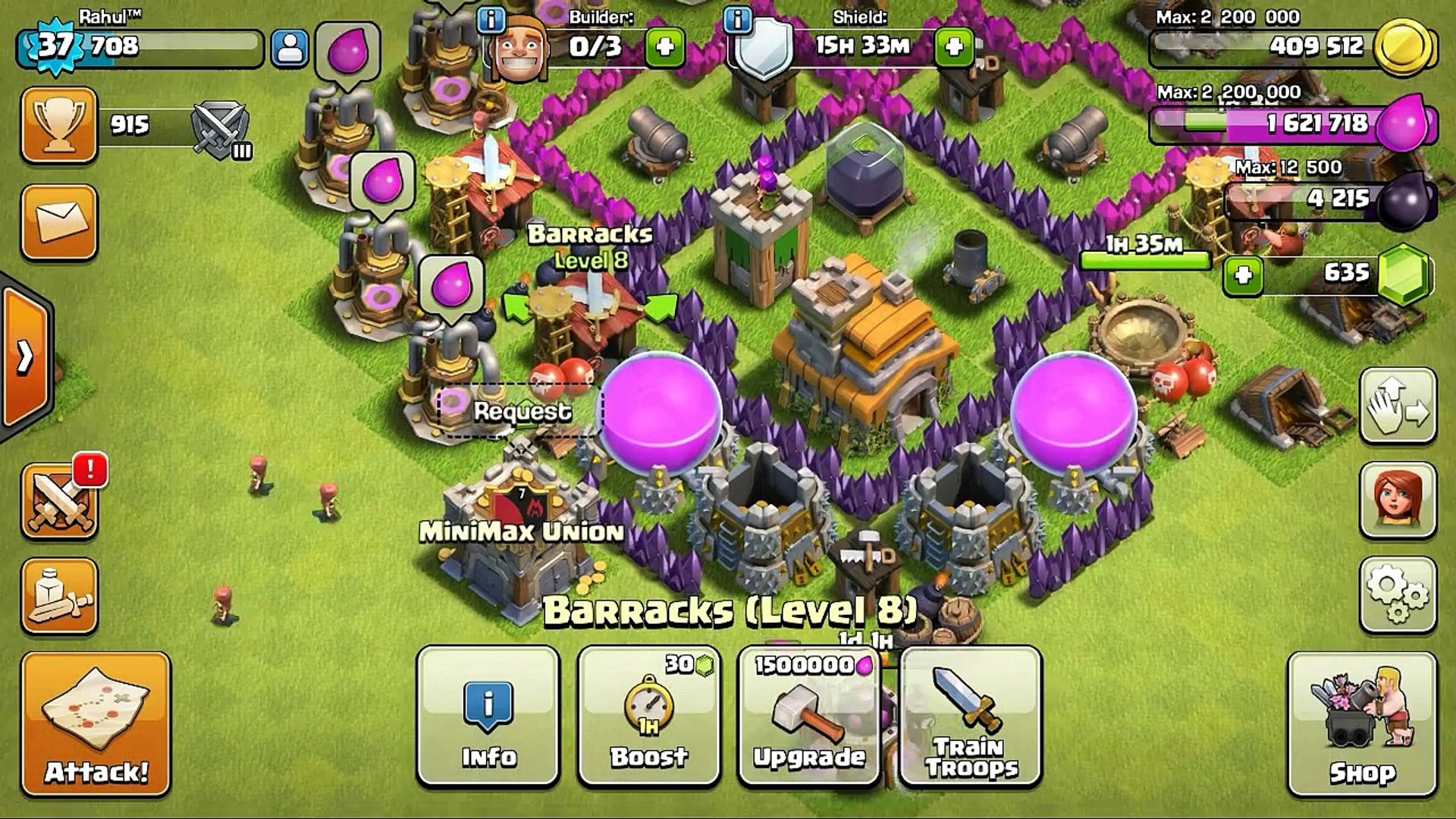 COC-Boost Troops For Free! [Post Update Glitch]-Clash Of Clans