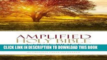 Read Now Amplified Holy Bible, Large Print, Hardcover
