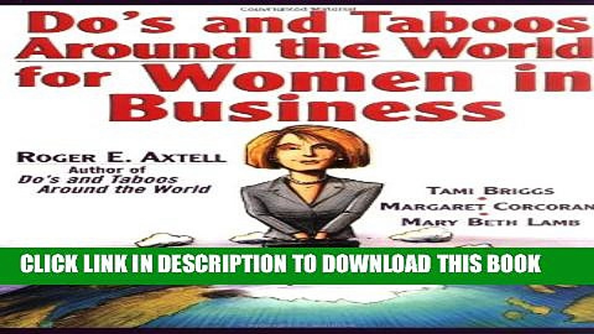 [PDF] Do s and Taboos Around the World for Women in Business Popular Online