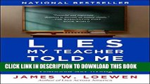 [PDF] Lies My Teacher Told Me: Everything Your American History Textbook Got Wrong Popular Colection
