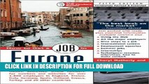 [PDF] How to Get a Job in Europe: Names, addresses, phone numbers, fax numbers, and websites for
