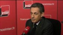 Nicolas Sarkozy répond aux questions des auditeurs de France Inter