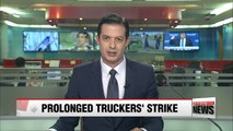Concerns over prolonged strike as truckers' walkout enters week two