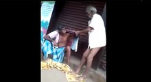 Crazy Old Man Fight - Funny People Fighting In Indian