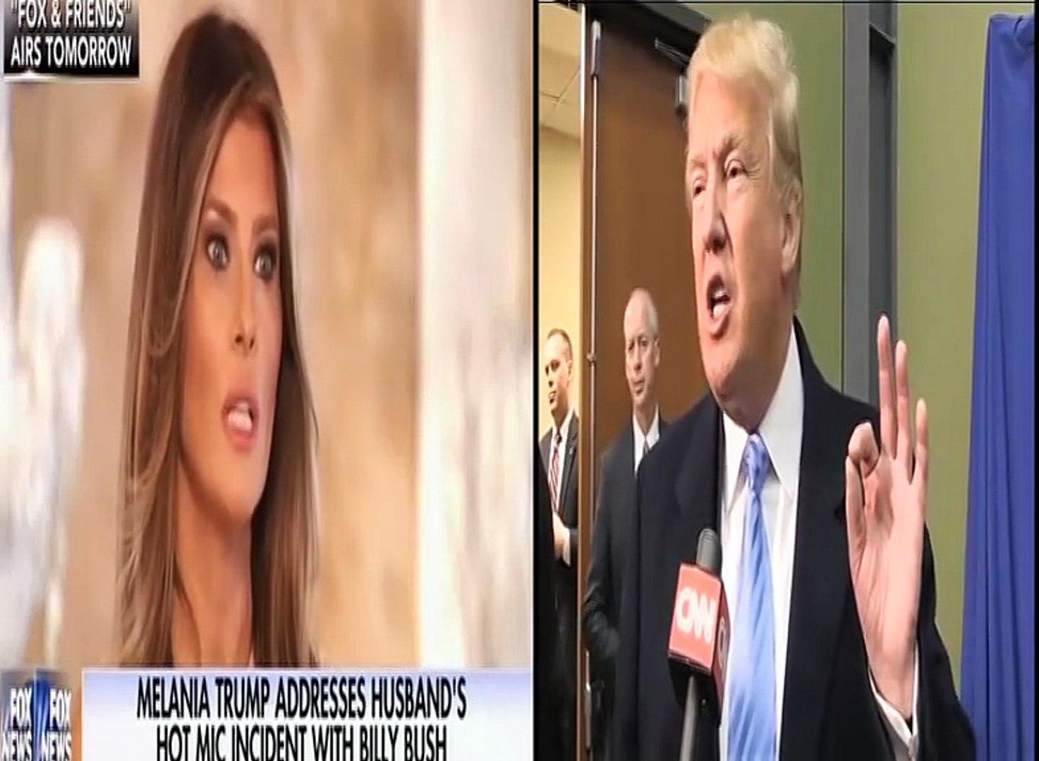 Melania Trump Defends Donald Trump