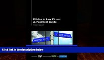 Books to Read  Ethics in Law Firms: A Practical Guide  Best Seller Books Most Wanted