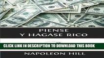[PDF] Piense y Hagase Rico (Spanish Edition) Full Online