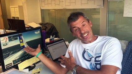 TechnoFirst - #faceOcean rend visite à @virtualregatta ... tout est prêt pour la Big Race ) .. @vendeeglobe