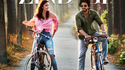 Dear Zindgai Official First Look - Shahrukh, Alia Bhatt