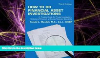 READ book  How to Do Financial Asset Investigations: A Practical Guide for Private Investigators,