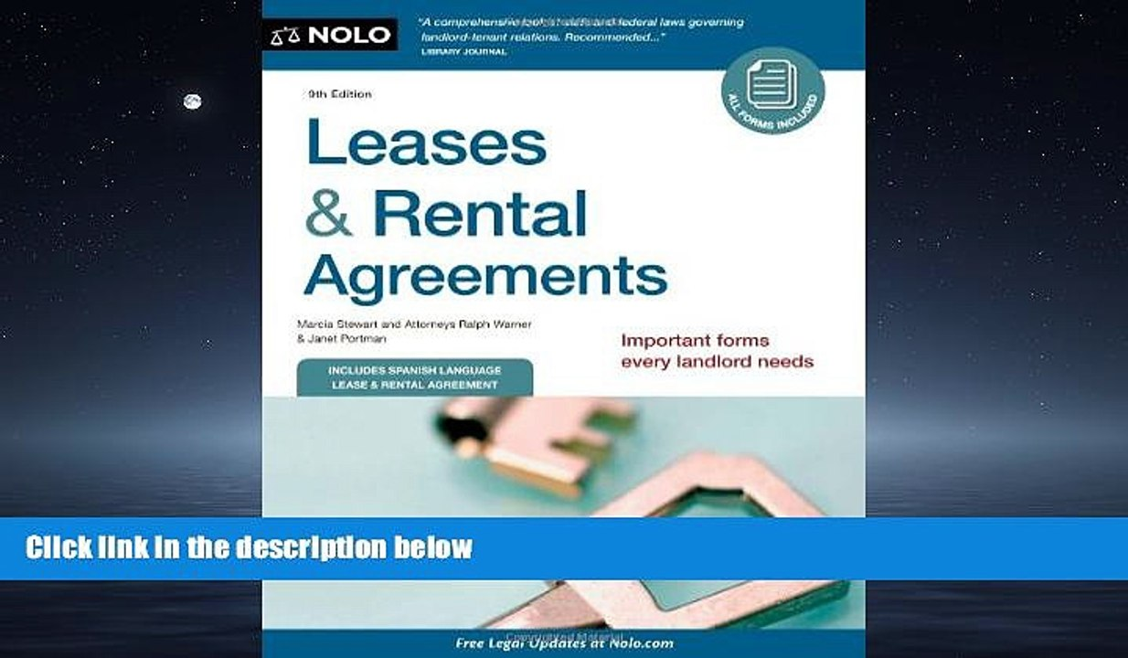 Free Download Leases Rental Agreements Free Boook Online