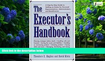 Big Deals  The Executors Handbook: A Step-By-Step Guide to Settling an Estate for Personal