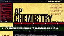 [EBOOK] DOWNLOAD Arco Master the Ap Chemistry Test 2001: Teacher-Tested Strategies and Techniques