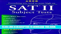 [BOOK] PDF Everything You Need to Score High on Sat II: Subject Tests (3rd ed) New BEST SELLER