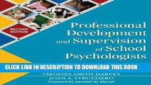 [BOOK] PDF Professional Development and Supervision of School Psychologists: From Intern to Expert