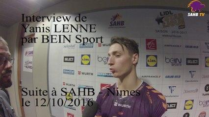 SAHB : interview de Yanis Lenne