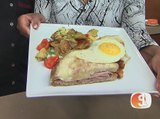 Chef Patrick Karvis of TapHouse Kitchen prepares brunch items