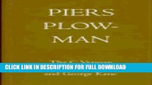 [PDF] Piers Plowman: The Three Versions. Volume III: The C Version Full Online