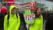منطقه والونی بلژیک مانع تصویب توافقنامه تجارت آزاد میان اروپا و کانادا